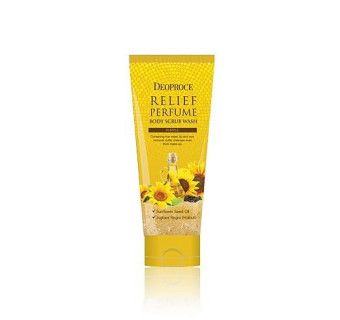 Скраб Deoproce relief perfume (очищающий, смягчающий, защищающий)