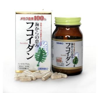 Orihiro Фукоидан на 30 дней (укрепляет иммунитет, снижает давление, нормализует холестерин)