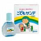 Детские капли для глаз с витаминами Santen Kodomo (мягкие)