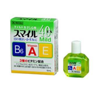 Купить капли для глаз Lion Smile 40 EX Mild (лечебная искусственная слеза)