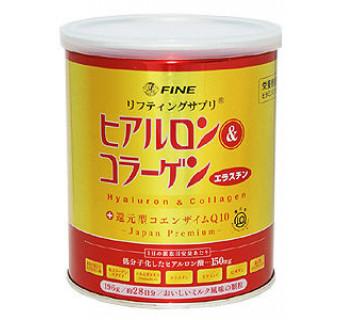 Питьевой коллаген + гиалуроновая кислота + витамин С (при проблемах с опорно-двигательным аппаратом, предупреждение старения)