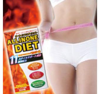 Комплекс ALLINONE DIET (ускоряет снижение веса при диетах и занятиях спортом)