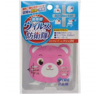 Купить блокатор вирусов «Медвежонок» (защита от простуды, радиус 1 метр)