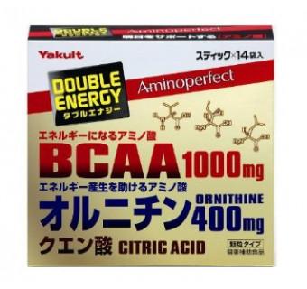 Комплекс аминокислот ВСАА и орнитин Yakult Double energy
