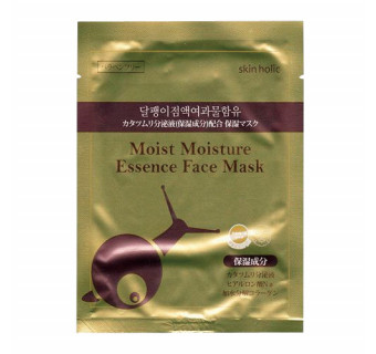 Маска для лица с эссенцией улитки Moist Moisture Essence Face Mask (для регенерации, от воспалений, 1 шт)