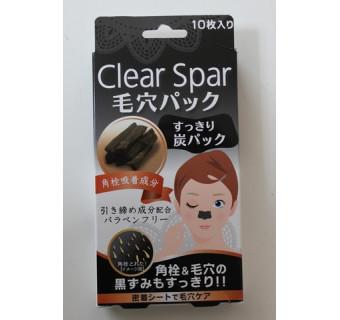 Салфетки для носа Clear Spar (от угрей и расширенных пор, 10 штук)