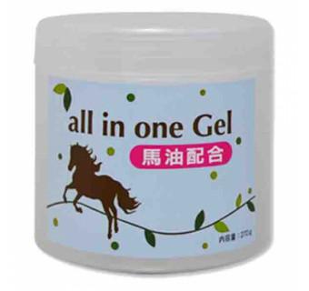 Гель крем для лица - Все в одном с лошадиным маслом от шелушения кожи
