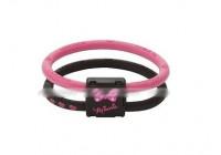 Colantotte магнитный браслет Pink Disney Minny размер м (улучшает циркуляцию крови в мышцах)