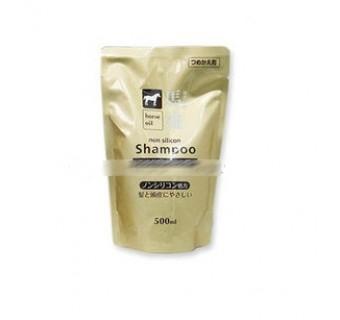 Шампунь с Лошадиным маслом - запаска 500 мл (дарит природную гладкость и мягкость)