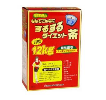 Чай на основе 10 компонентов очищающий кишечник