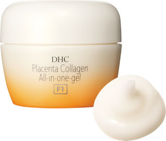 Гель крем Placenta Collagen gel all-in-one F1 увлажняющий