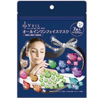 Омолаживающая маска для лица (58 компонентов красоты; 7 шт в упаковке)