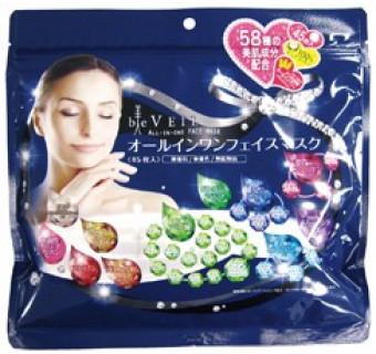 Купить омолаживающую маску для лица (58 компонентов красоты; 45 шт в упаковке)