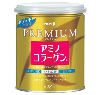 Купить амино коллаген Meiji Premium в банке