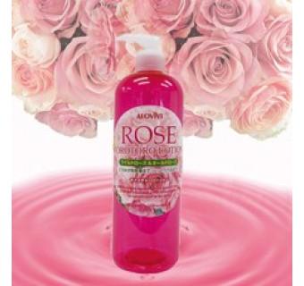 Лосьон-желе с экстрактом пяти роз (делает любую кожу нежной, здоровой и сияющей)