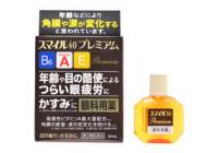 Капли для глаз LION Smile 40 Premium (10 компонентов, с витамином А, для тонуса глаз)