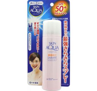 ROHTO SKIN AQUA SARAFIT UV Silky Spray Floral ( защита от солнца, длительное увлажнение)