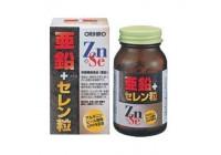 Цинк + Селен. Комплекс витамин и минералов для мужчин на 30 дней. Orihiro (для замедления старения)