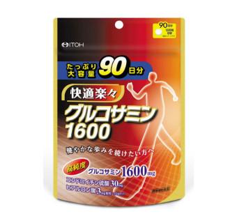 Глюкозамин Хондроитин ITOH на 90 дней (регенерирует хрящевую ткань, укрепляет соединительную ткань, снижает воспаление и боль в суставах)