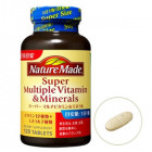 Витаминный комплекс Super Multiple (содержит суточную дозу необходимых организму минералов и витаминов)