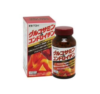 Глюкозамин +Хондроитин  ITOH (для лечения и профилактики заболеваний суставов, а также при интенсивных физических нагрузках)