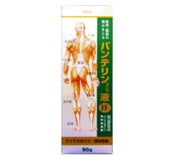 Лосьон Бантерин (от болей в суставах и мышцах)