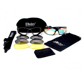Купить тактические очки DAISY USA MILITARY С4 (для защиты глаз в экстремальных условиях)